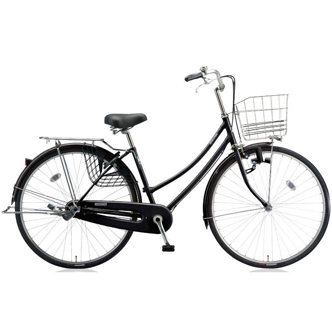 ブリヂストン シティサイクル スクリッジ W型 SR63W E.Xブラック 26インチ3段変速 ダイナモランプ 【2018年モデル】【完全組立済自転車】