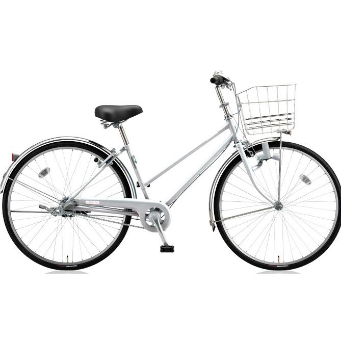 ブリヂストン シティサイクル スクリッジ S型 SR70S M.XRシルバー 27インチ変速なし ダイナモランプ 【2018年モデル】【完全組立済自転車】