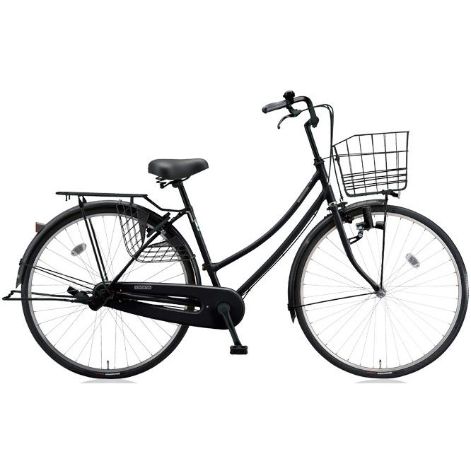 【防犯登録サービス中】ブリヂストン シティサイクル スクリッジ W型 SR70W E.Xブラック/BK 27インチ変速なし ダイナモランプ 【2018年モデル】【完全組立済自転車】