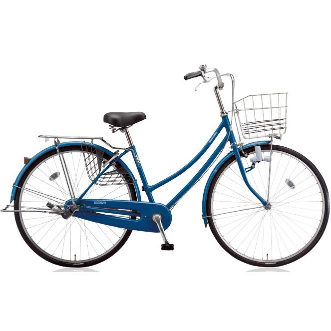 ブリヂストン シティサイクル スクリッジ W型 SR70W F.Xソリッドブルー 27インチ変速なし ダイナモランプ 【2018年モデル】【完全組立済自転車】