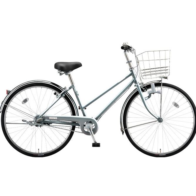 ブリヂストン シティサイクル スクリッジ S型 SR73S M.Xガンメタグレー 27インチ3段変速 ダイナモランプ 【2018年モデル】【完全組立済自転車】