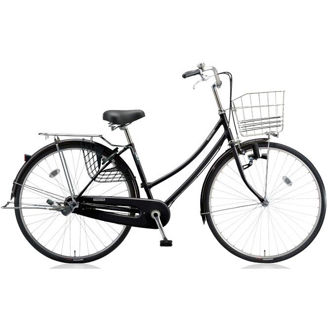 ブリヂストン シティサイクル スクリッジ W型 SR73W E.Xブラック 27インチ3段変速 ダイナモランプ 【2018年モデル】【完全組立済自転車】