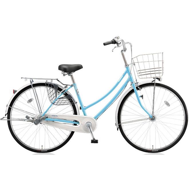 ブリヂストン シティサイクル スクリッジ W型 SR73WT M.Xブリアスカイ 27インチ3段変速 点灯虫ランプ 【2018年モデル】【完全組立済自転車】