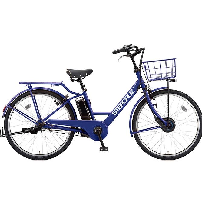 【送料無料】 ブリヂストン ステップクルーズ e ST6B48 E.Xバイオレットブルー 26インチ3段変速 電動自転車【2018年モデル】【完全組立済自転車】【北海道、九州、沖縄、離島は送料別】