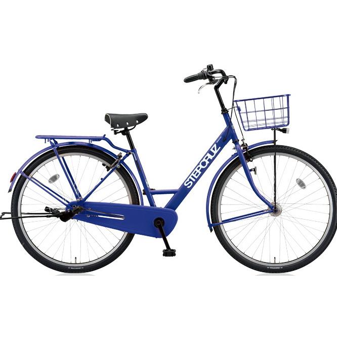 ブリヂストン シティサイクル ステップクルーズ ST73T E.Xバイオレットブルー 3段変速 【2018年モデル】【完全組立済自転車】