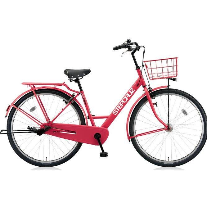 ブリヂストン シティサイクル ステップクルーズ ST73T E.Xチェリーローズ 3段変速 【2018年モデル】【完全組立済自転車】