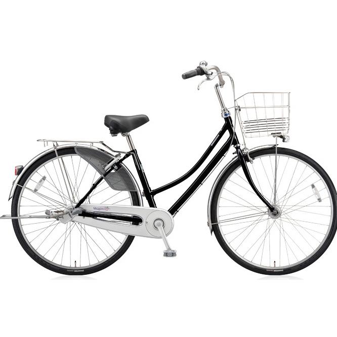 ブリヂストン シティサイクル タフループ TF73TP E.Xブラック 27インチ3段変速 【2018年モデル】【完全組立済自転車】
