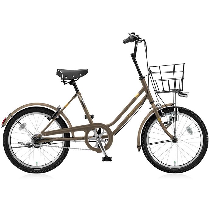 【防犯登録サービス中】ブリヂストングリーンレーベル ミニベロ VEGAS VGS03 T.XHカーキ 【2018年モデル】【完全組立済自転車】
