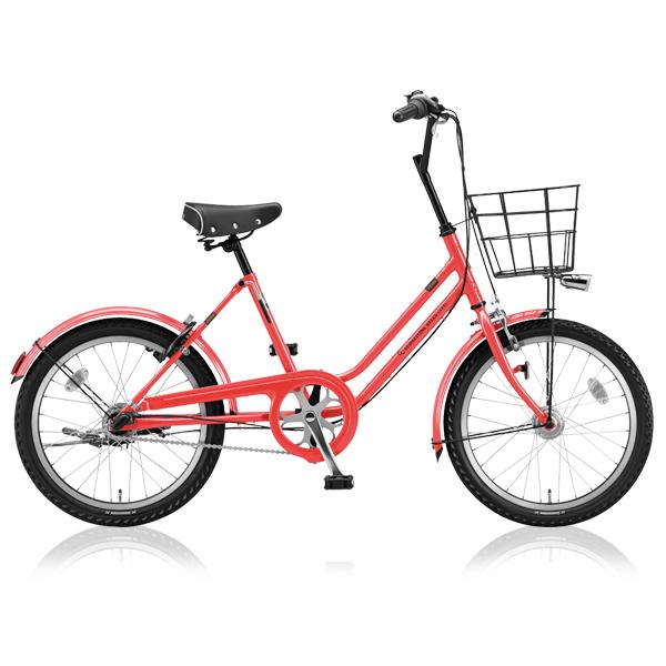 ブリヂストングリーンレーベル ミニベロ VEGAS VGS03T E.Xフラミンゴオレンジ 【2018年モデル】【完全組立済自転車】