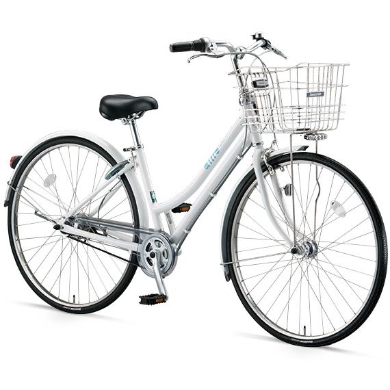 ブリヂストン シティサイクル エアルト(airto) L型 AT75L6 E.ホワイト 27インチ5段変速【2016年モデル】【完全組立済 自転車】