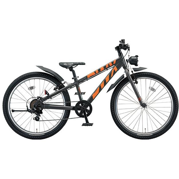 ブリヂストン BWX ストリート BXS676 ガンメタリック/オレンジ 26インチ ジュニアバイク【2016年モデル】【完全組立済自転車】