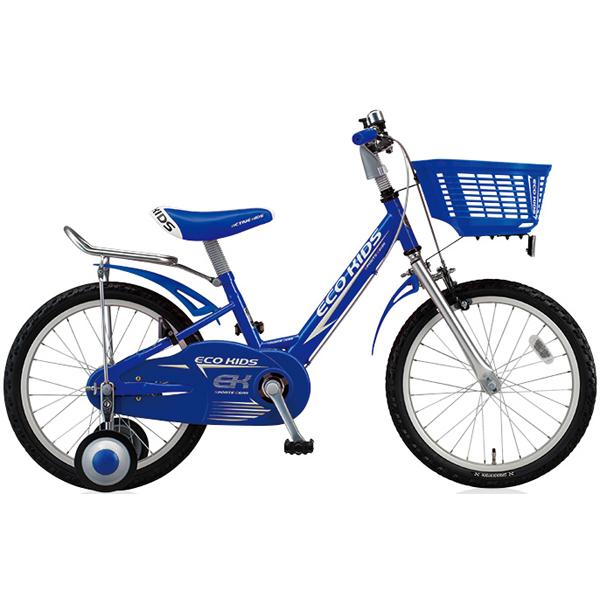 ブリヂストン キッズ用自転車 エコキッズ スポーツ EK18S6 ブルー 【2016年モデル】【完全組立済 自転車】