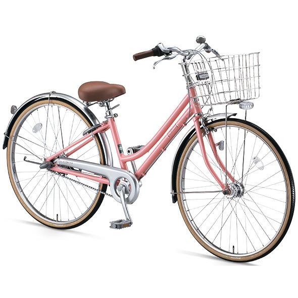 ブリヂストン シティサイクル ロペタ LP60T6 P.Xピーチピンク 変速なし【2016年モデル】【完全組立済 自転車】