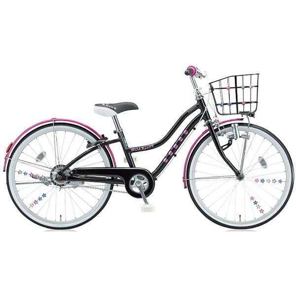 ブリヂストン 少女用自転車 ワイルドベリー WB606 ブラックパンサー 26インチ変速なし【2016年モデル】【完全組立済 自転車】