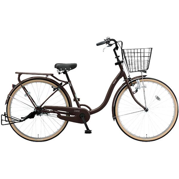 ブリヂストン シティサイクル YUUVI II YV606 T.Xマットショコラ 26インチ変速なし ダイナモランプ【2016年モデル】【完全組立済 自転車】