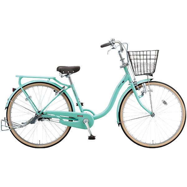 ブリヂストン シティサイクル YUUVI II YV606 E.Xフレンチミント 26インチ変速なし ダイナモランプ【2016年モデル】【完全組立済 自転車】