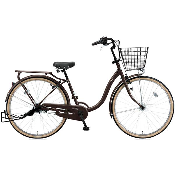 ブリヂストン シティサイクル YUUVI II YV60T6 T.Xマットショコラ 26インチ変速なし 点灯虫ランプ【2016年モデル】【完全組立済 自転車】
