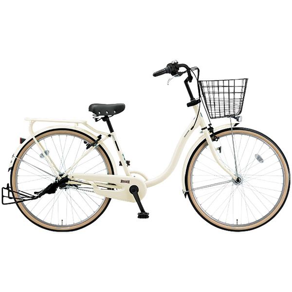ブリヂストン シティサイクル YUUVI II YV60T6 E.Xクリームアイボリー 26インチ変速なし 点灯虫ランプ【2016年モデル】【完全組立済 自転車】