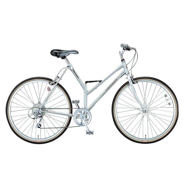 ブリヂストン トランジットスポーツG26 TSG268 スーパーシルバー 折りたたみ自転車【2013年モデル】