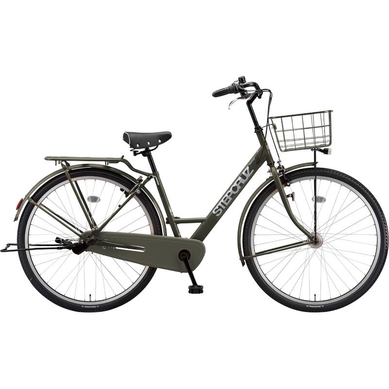 <title>送料無料でお届けします 専門スタッフがていねいに組立調整して梱包します 市場老舗の店 1999年から出店 サービス 送料無料 ブリヂストン シティサイクル自転車 ステップクルーズ ST73T1 T.Xマットカーキ 2021年モデル 完全組立済自転車</title>