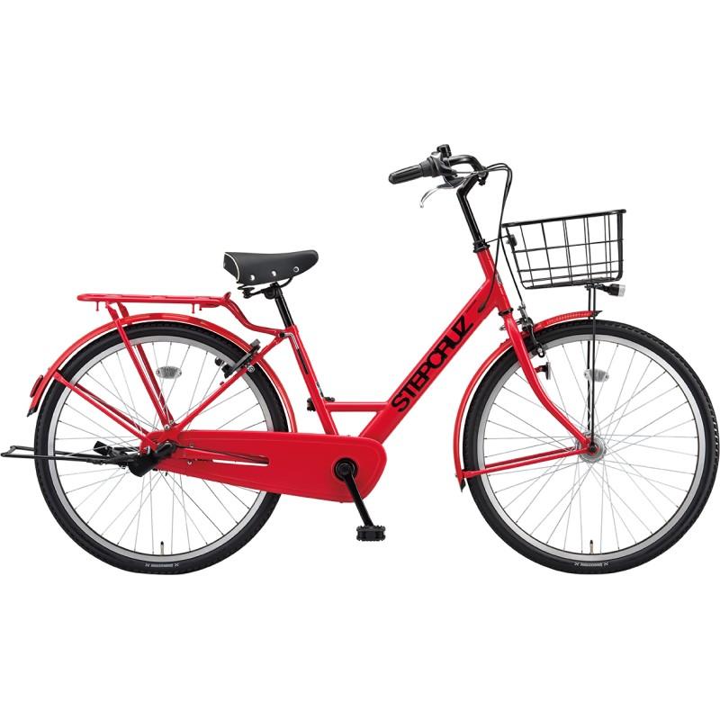 <title>送料無料でお届けします ショッピング 専門スタッフがていねいに組立調整して梱包します 市場老舗の店 1999年から出店 送料無料 ブリヂストン シティサイクル自転車 ステップクルーズ ST73T1 F.Xアクティブレッド 2021年モデル 完全組立済自転車</title>