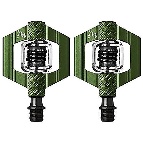 送料無料 CRANKBROTHERS(クランクブラザーズ) ペダル キャンディ2 V3 グリーン