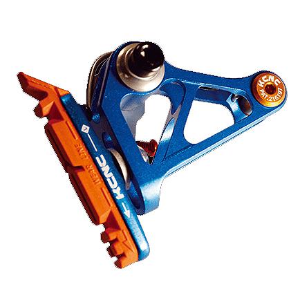 【キャッシュレス5%還元対象店】送料無料 KCNC ブレーキ カンチレバーブレーキ 34.9mm 6061AL ブルー
