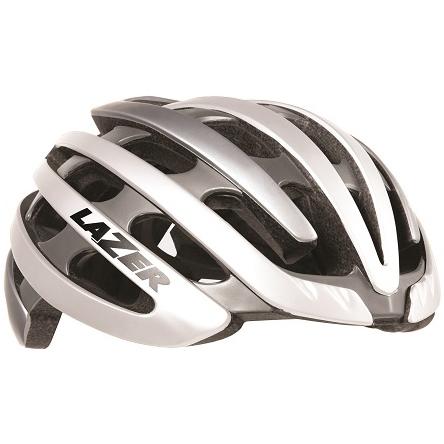 【送料無料】 LAZER(レイザー) サイクルヘルメット Z1 ホワイト/シルバー Sサイズ