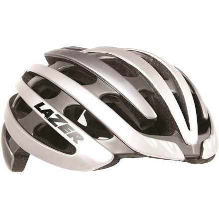 【送料無料】 LAZER(レイザー) サイクルヘルメット Z1 ホワイト/シルバー Mサイズ