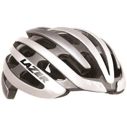 【送料無料】 LAZER(レイザー) サイクルヘルメット Z1 ホワイト/シルバー Lサイズ
