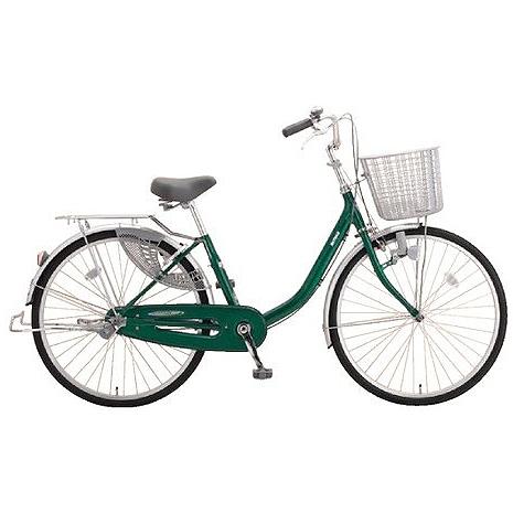 ミヤタ(MIYATA) シティサイクル アルミスター(変速なし) DAU4091ネオフォレストグリーン 【2019年モデル】【完全組立済自転車】
