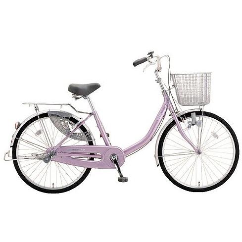 ミヤタ(MIYATA) シティサイクル アルミスター(変速なし) DAU4091ネオアルミピンク 【2019年モデル】【完全組立済自転車】