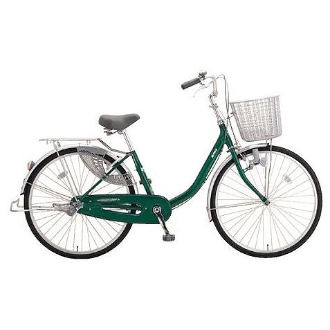 ミヤタ(MIYATA) シティサイクル アルミスター(変速なし) DAU6091ネオフォレストグリーン 【2019年モデル】【完全組立済自転車】