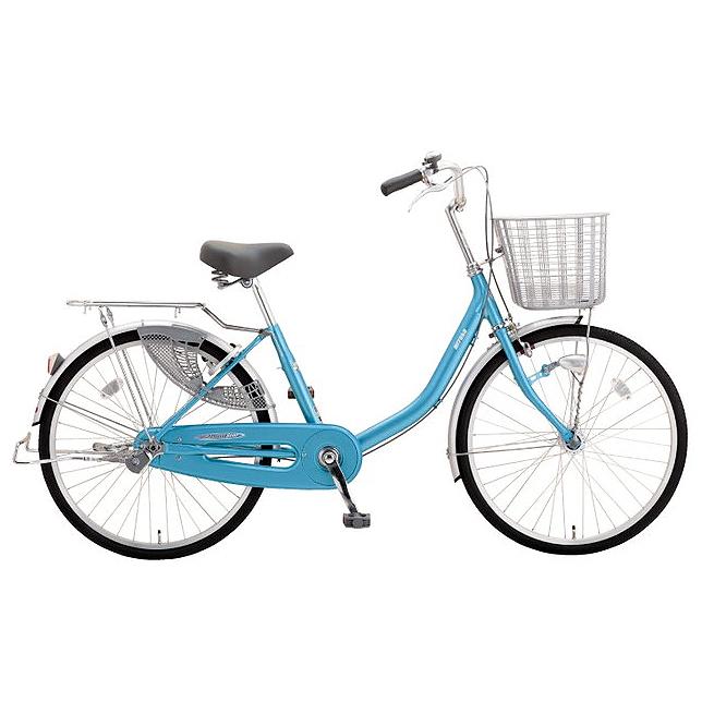 ミヤタ(MIYATA) シティサイクル アルミスター(変速なし) DAU60A91フラッシュブルー 【2019年モデル】【完全組立済自転車】