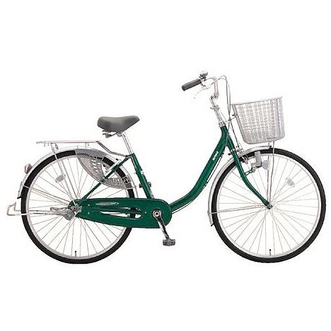 ミヤタ(MIYATA) シティサイクル アルミスター(変速なし) DAU60A91ネオフォレストグリーン 【2019年モデル】【完全組立済自転車】