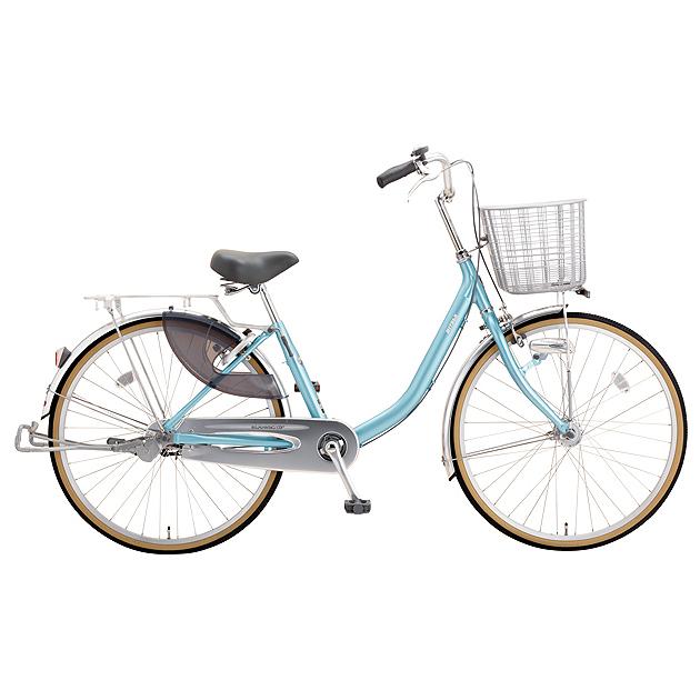 ミヤタ(MIYATA) シティサイクル クォーツエクセルライト DQXU43L81 アルミナスカイブルー 【2019年モデル】【完全組立済自転車】