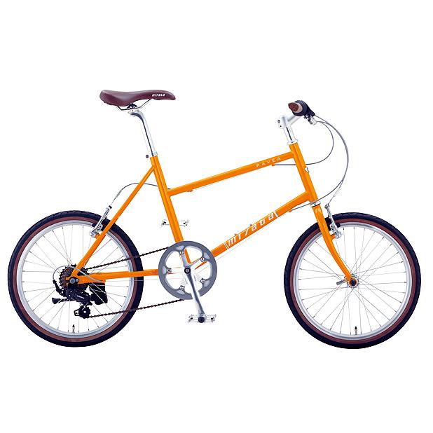 【キャッシュレス5%還元対象店】送料無料 ミヤタ(MIYATA) ミニベロ パビア APV430 (AY02) マンゴー 【2020年モデル】【完全組立済自転車】