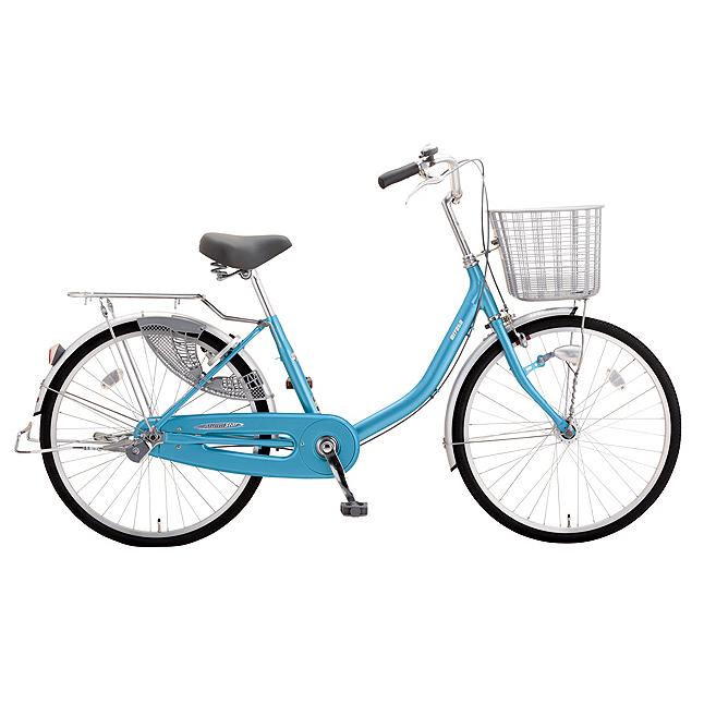 送料無料 ミヤタ(MIYATA) シティサイクル アルミスターU DAU60A91 (AB28) フラッシュブルー 【2020年モデル】【完全組立済自転車】