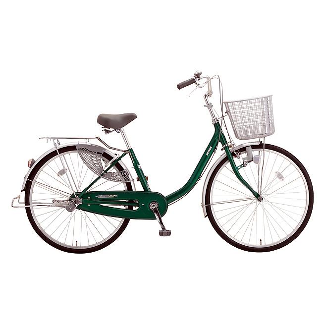 送料無料 ミヤタ(MIYATA) シティサイクル アルミスターU DAU60A91 (OG85) ネオフォレストグリーン 【2020年モデル】【完全組立済自転車】