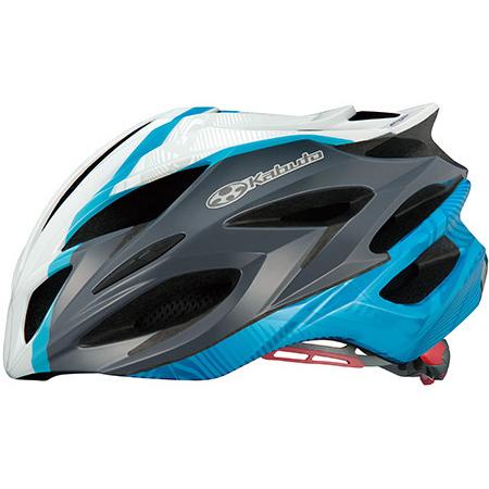 【送料無料】 OGK KABUTO ヘルメット ステアーレディース パールホワイトブルー S/M SLIM
