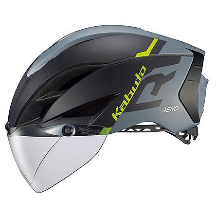 送料無料 OGK KABUTO(オージーケーカブト) ヘルメット エアロ-R1 G1マットブラックグレー S/M