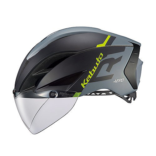 送料無料 OGK KABUTO(オージーケーカブト) ヘルメット エアロ-R1 G1マットブラックグレー L/XL