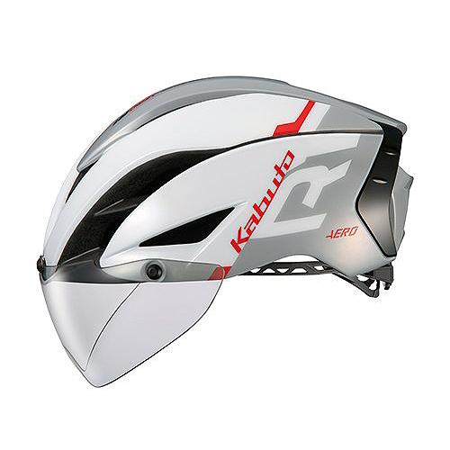 送料無料 OGK KABUTO(オージーケーカブト) ヘルメット エアロ-R1 G1ホワイトライトグレー L/XL