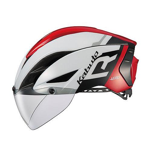 送料無料 OGK KABUTO(オージーケーカブト) ヘルメット エアロ-R1 G1ホワイトレッド L/XL
