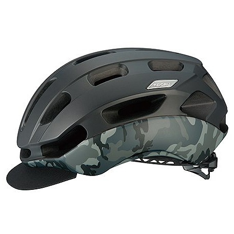 送料無料 OGK KABUTO(オージーケーカブト) ヘルメット BC-GLOSBE2 マットブラックカモ S/M