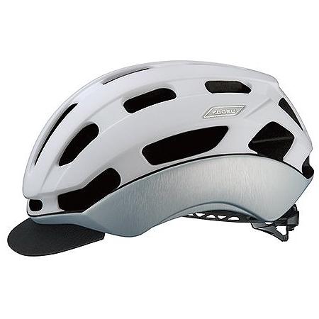 送料無料 OGK KABUTO(オージーケーカブト) ヘルメット BC-GLOSBE2 マットホワイトヘアライン L/XL