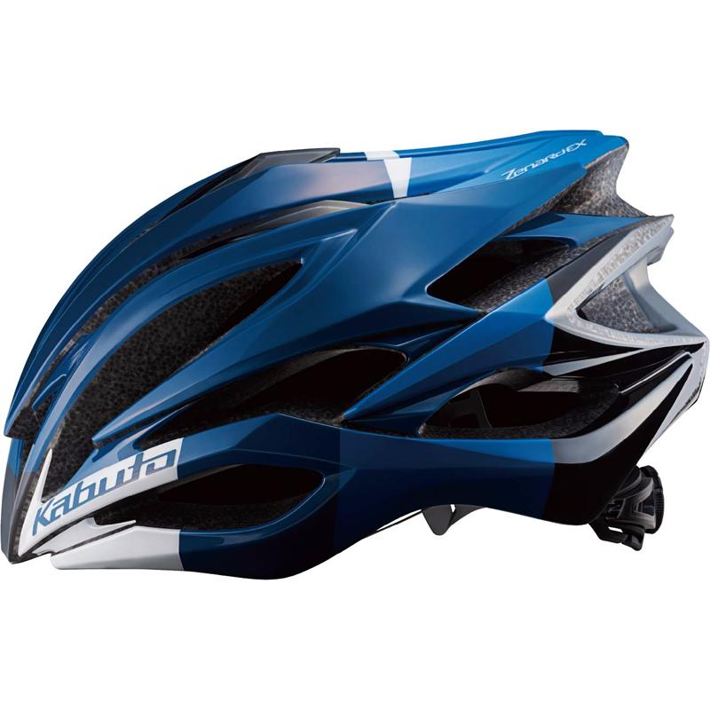 送料無料 OGK KABUTO(オージーケーカブト) 自転車用ヘルメット ゼナードEX ネイビーブルー S/M