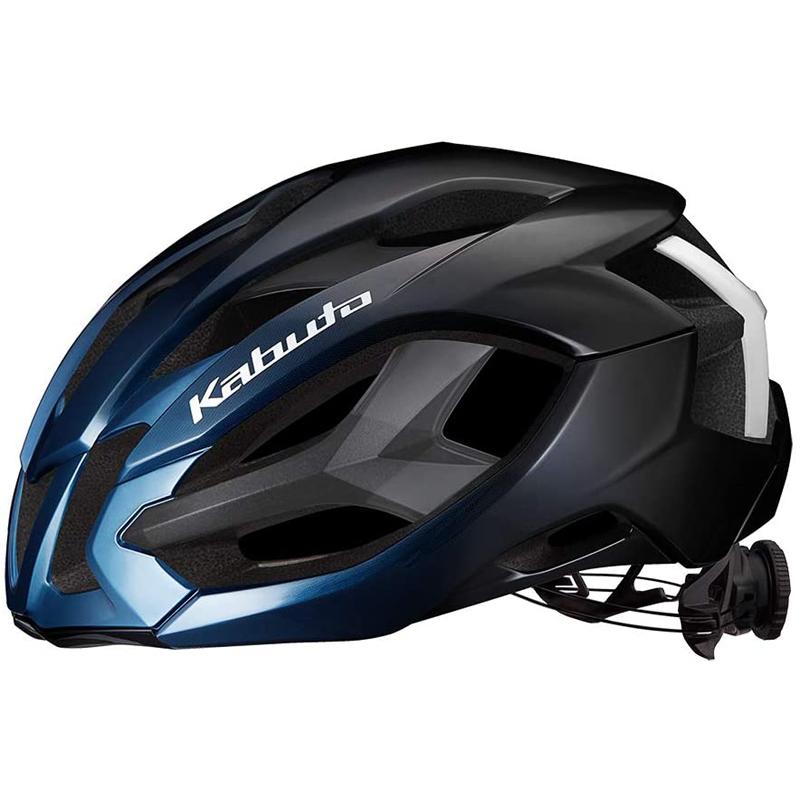 送料無料でお届けします 市場老舗の店 1999年から出店 送料0円 送料無料 人気ブレゼント OGK メタリックブルー L KABUTO 自転車用ヘルメット IZANAGI