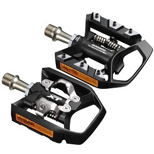 ALL NEW Shimano Deore XT PD-T8000 SPD Trekking MTB bike Pedals Clipless w//Cleats
