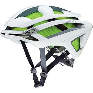 送料無料 SMITH(スミス) ヘルメット OVERTAKE WHITE M